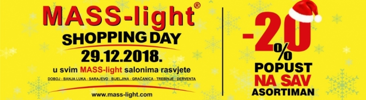 SHOPPING DAY I NOVI SALON RASVJETE 29.12.2018.